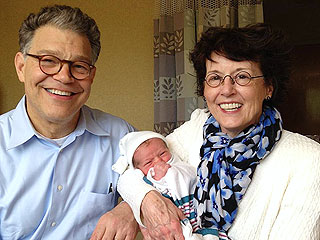 PHOTO: Al Franken Becomes a Grandpa