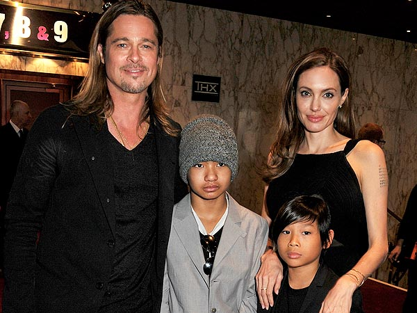 Angelina Jolie Returns to Red Carpet with Brad Pitt Following Double Mastectomy Reveal| Health, World War Z, Angelina Jolie, Brad Pitt