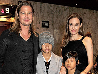 Brad Pitt, Angelina Jolie Keep 'No Secrets' from Kids | Angelina Jolie, Brad Pitt