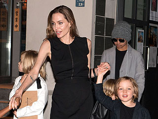 Angelina Celebrates Her Birthday (Again!) with Sushi & Her Kids | Angelina Jolie, Brad Pitt