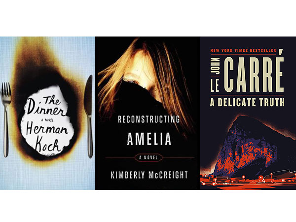 Book Reviews: The Dinner; A Delicate Truth; Reconstructing Amelia