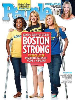 Boston Bombing Amputees: Tales of Strength & Courage