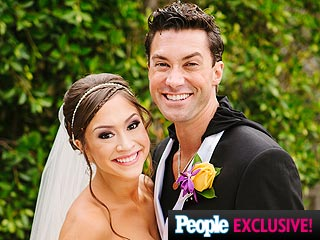 See Ace Young & Diana DeGarmo's Wedding Photos