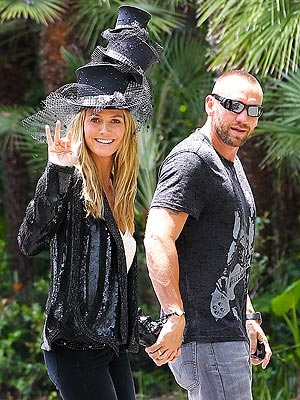 Heidi Klum Celebrates 40th Birthday with a Hat Party