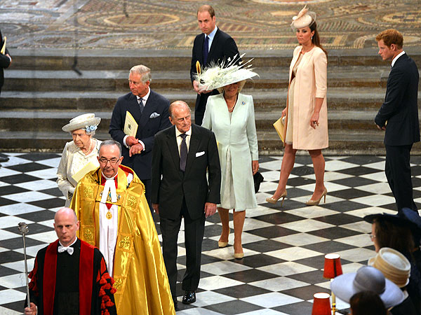 Kate and William Join Queen for Coronation Anniversary Service| The British Royals, The Royals, Kate Middleton, Prince Harry, Prince Philip, Prince William, Queen Elizabeth