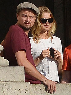 Leo Tours Versailles with Victoria's Secret Model