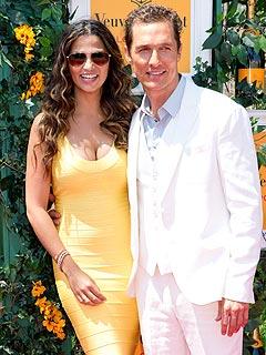 Matthew McConaughey Veuve Clicquot Polo Classic