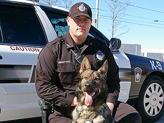 PHOTOS: Police Department Pays Tribute to Beloved K-9 Dog