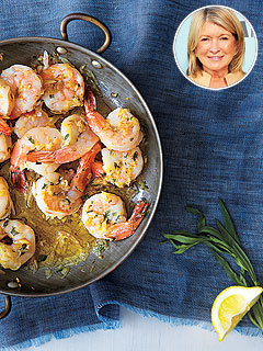 Make Martha Stewart's Tarragon Shrimp Scampi