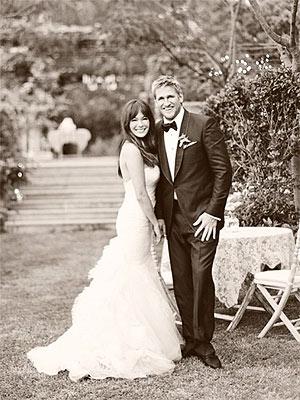 Lindsay Price and curtis stone wedding