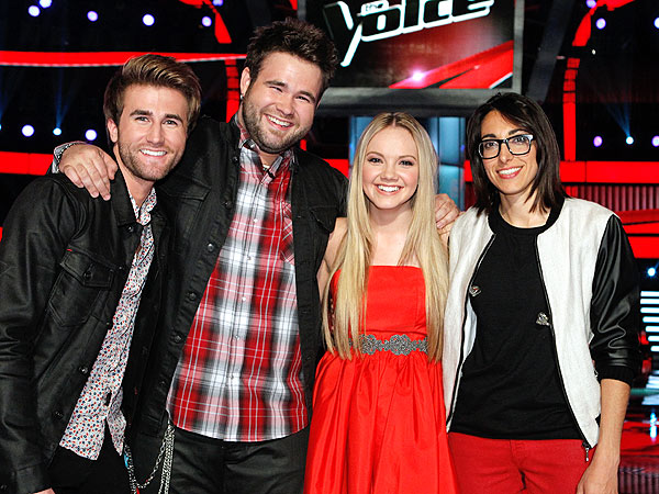 The Voice Finale: Swon Brothers, Danielle Bradbery and Michelle Chamuel Compete