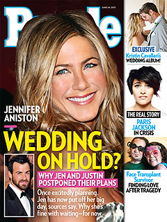 Why Jen & Justin Pushed Back Their Wedding Plans