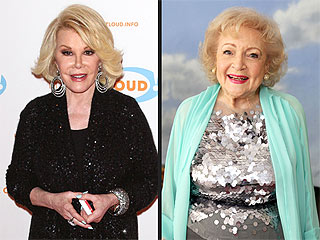 Joan Rivers on Aging: Betty White Is My Hero | Betty White, Joan Rivers