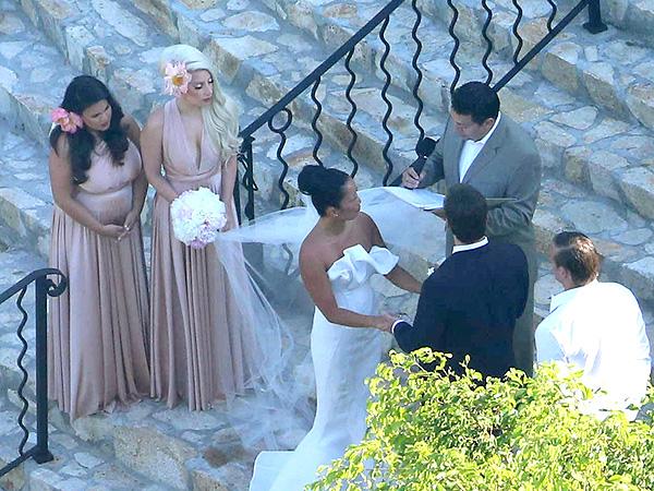 Lady Gaga Blends In as a Bridesmaid at Best Friend's Wedding| Weddings, Lady Gaga