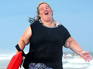 Mama June Has a Baywatch Moment on the Beach