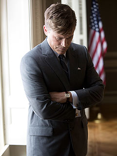 PHOTO: Rob Lowe Looks Just Like President Kennedy | Rob Lowe