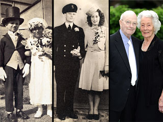 PHOTOS: Couple Who Posed as Bride & Groom at Age 4 Still Going Strong at 91