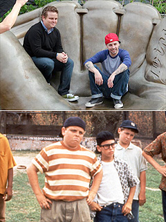 The Sandlot's Ham & Squints Reunite 20 Years Later – and Look the Same!
