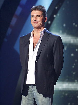 Simon Cowell Egged at Britain's Got Talent Finale