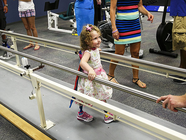 2-Year-Old Walks Again After Losing Legs in a Lawnmower Accident  Health, Real People Stories