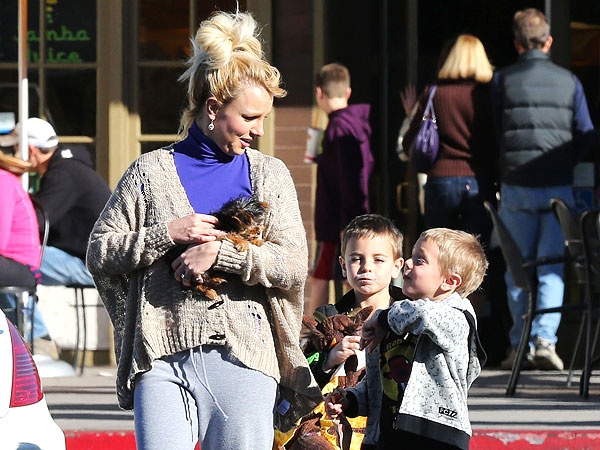 Britney Spears Reveals Sons' 'Adorable' Cameo in Her New Music Video
