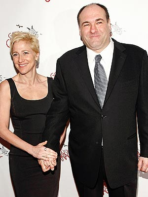 Edie Falco comments on james gandolfini dead