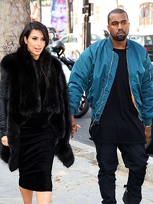 Kanye West Dotes on Newborn Daughter, Hasn't Left Kim Kardashian's Side