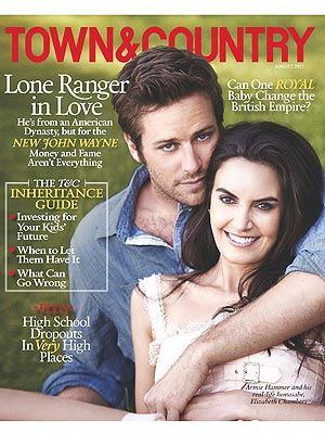 How Armie Hammer Convinced Wife Elizabeth Chambers to Marry Him