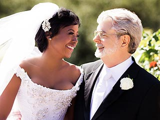 Newlyweds George Lucas & Mellody Hobson Party with Prince | George Lucas