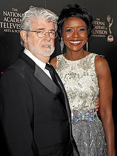 George Lucas, Mellody Hobson Welcome Daughter Everest