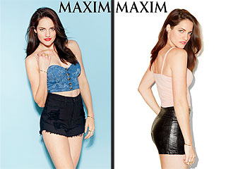 From Bonnets to Bustiers: Breaking Amish's Kate Stoltzfus Poses for Maxim