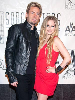 Avril Lavigne, Chad Kroeger Wed