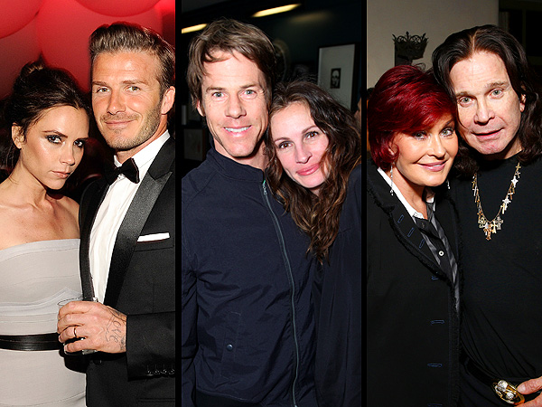 Independence Day Wedding - Beckhams, Osbournes and Julia Roberts Anniversary