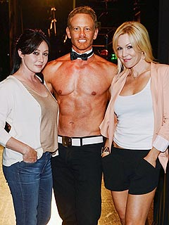 Ian Ziering: My Chippendales Night with Shannen Doherty & Jennie Garth | Ian Ziering, Jennie Garth, Shannen Doherty