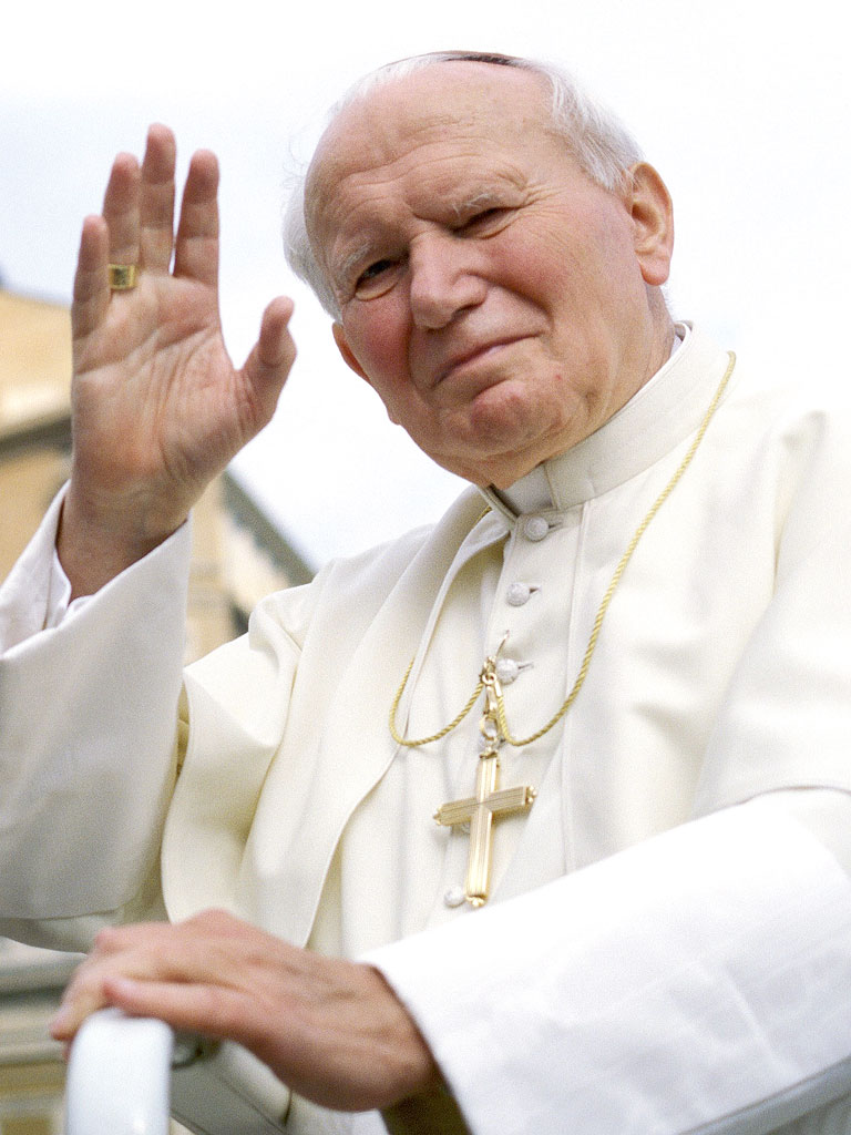 Pope <b>John Paul</b> II Approved for Sainthood - pope-john-paul-768