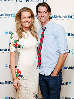 Rebecca Romijn King and Maxwell