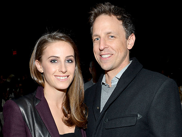 Seth Meyers Proposed with Ring Tied to Dog's Collar