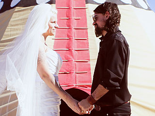 PHOTO: Shooter Jennings & Misty Brooke Swain's Desert-Themed Wedding