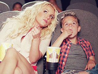 VIDEO: Watch Britney's Boys Make Their Music Video Debut with Mom