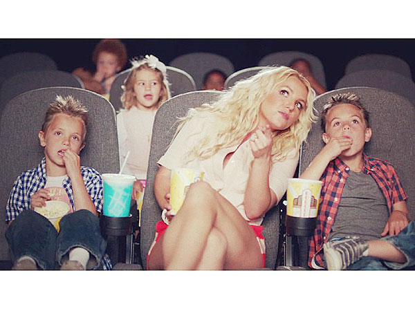 Britney Spears Music Video Ooh La La Sons Sean Preston and Jayden Instagram Photo