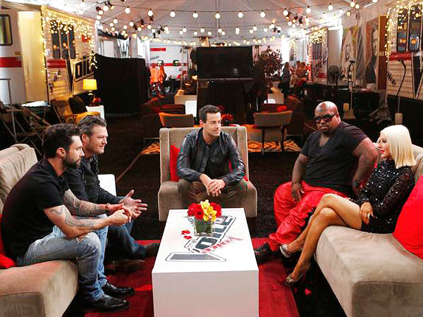 The Voice Season 5: Christina Aguilera, Cee Lo Green Return - First Photo