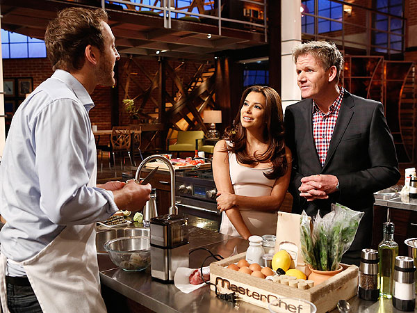 Joe Bastianich's MasterChef Blog: Eva Longoria Is a Serious Restaurateur| Celebrity Blog, MasterChef, Eva Longoria, Joe Bastianich
