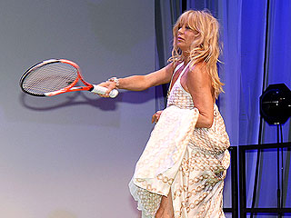 See Goldie Hawn & Kate Hudson Hit the Tennis Court – in Couture | Goldie Hawn