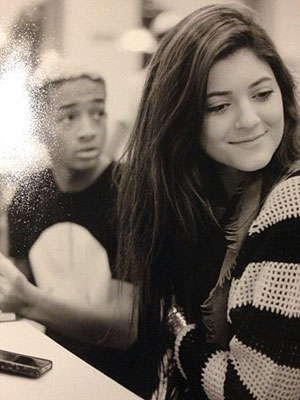 Kylie Jenner Sends Birthday Message to Jaden Smith