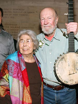 Pete Seeger's Wife, Toshi Seeger, Dies