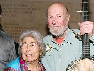 Toshi Seeger, Wife of Folk Singing Legend Pete Seeger, Dies | Pete Seeger