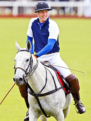 Prince William's Plans This Weekend Include Polo – Not Baby