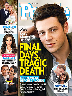 Glee Star Cory Monteith's Death at 31: The Inside Story in PEOPLE Magazine