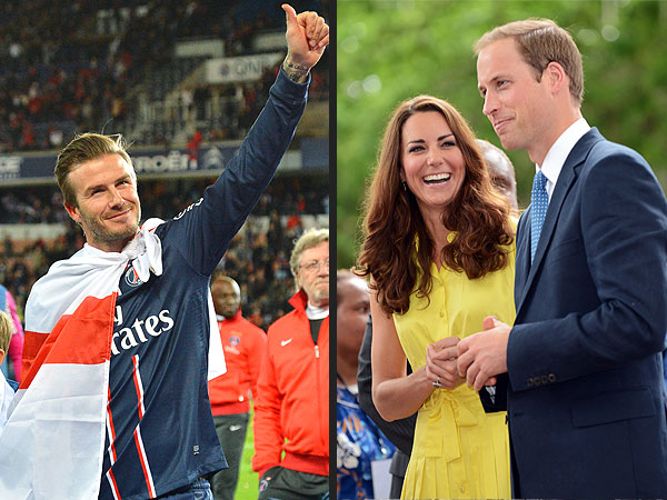 Royal Baby Watch: David Beckham Picks a Name