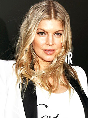 Fergie Enjoys Girls' Night Out at Fashion Party in L.A.